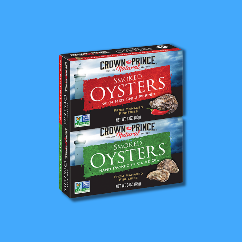 Smoked Oysters 10 - Crown Prince Seafood - Certified Paleo - Paleo Foundation