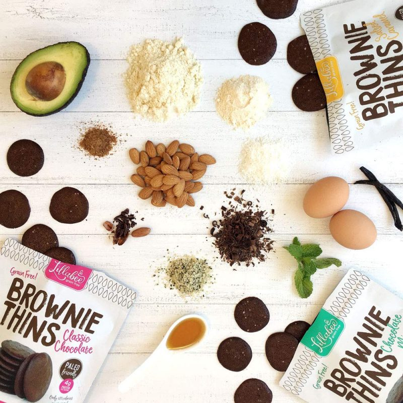 Brownie Thins 01 - Lillabee Baking - Certified Paleo Friendly by the Paleo Foundation