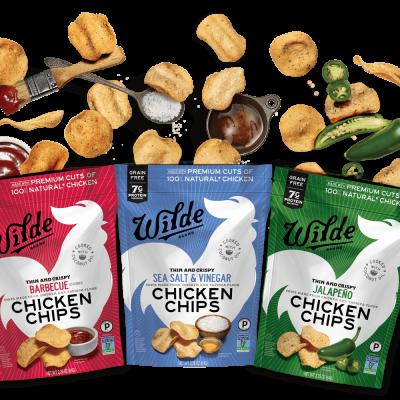 Chicken Chips lineup - Wilde Brands - Certified Paleo - Paleo Foundation