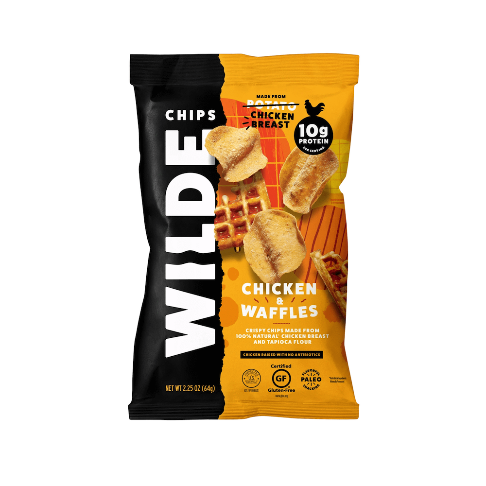 Chicken and Waffle Chicken Chips