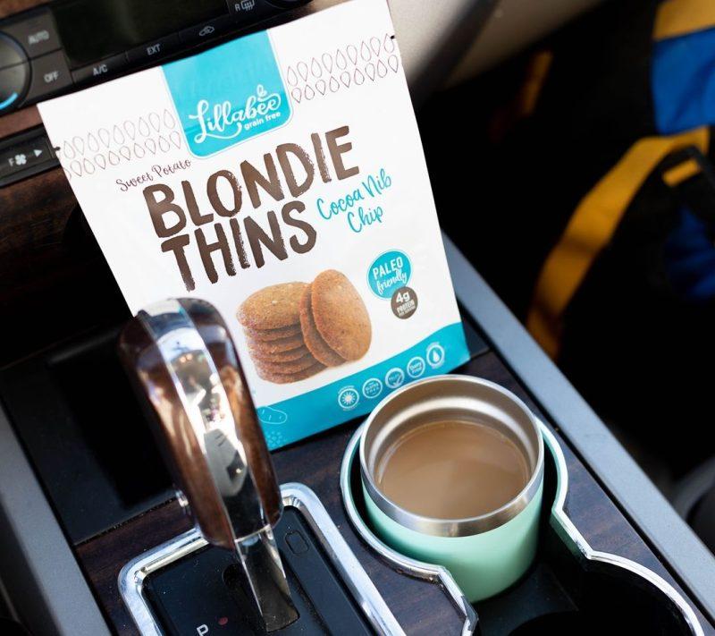Cocoa Nib Chip Blondie Thins - Lillabee Snacks - Paleo Friendly by the Paleo Foundation