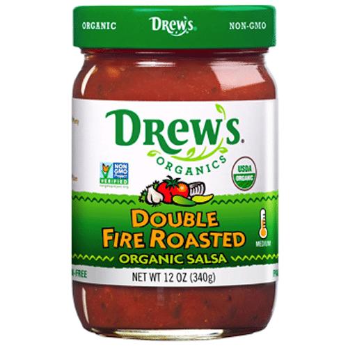 Double Fire Organic Salsa - Drew's Organics - Certified Paleo - Paleo Foundation
