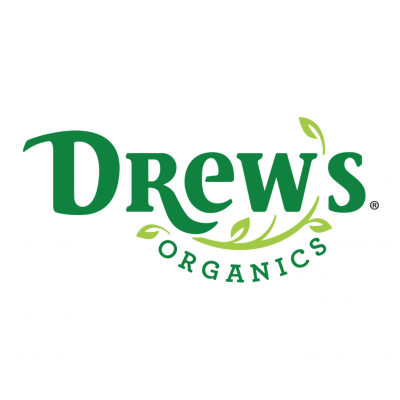Drew's Organics logo - Certified Paleo, KETO Certified by the Paleo Foundation