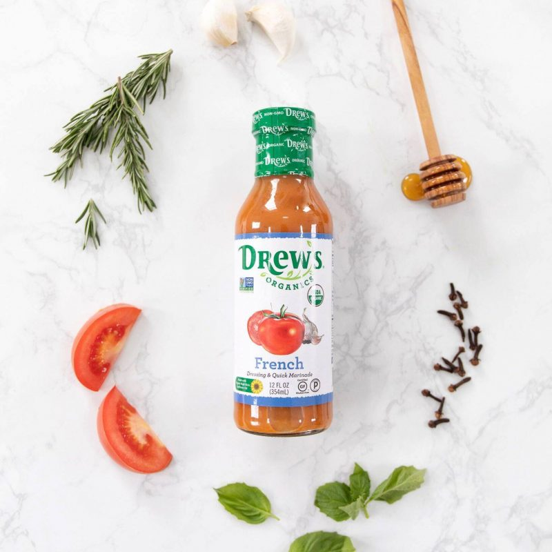 French Dressing and Quick Marinade 01 - Drew's Organics - Certified Paleo, Keto Certified by the Paleo Foundation
