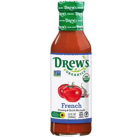 French Dressing and Quick Marinade - Drew's Organics - Certified Paleo, Keto Certified by the Paleo Foundation