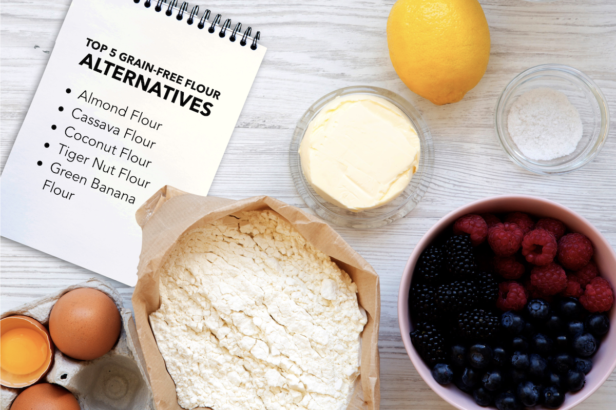 Top 5 Gluten Free and Grain Free Flour Alternatives