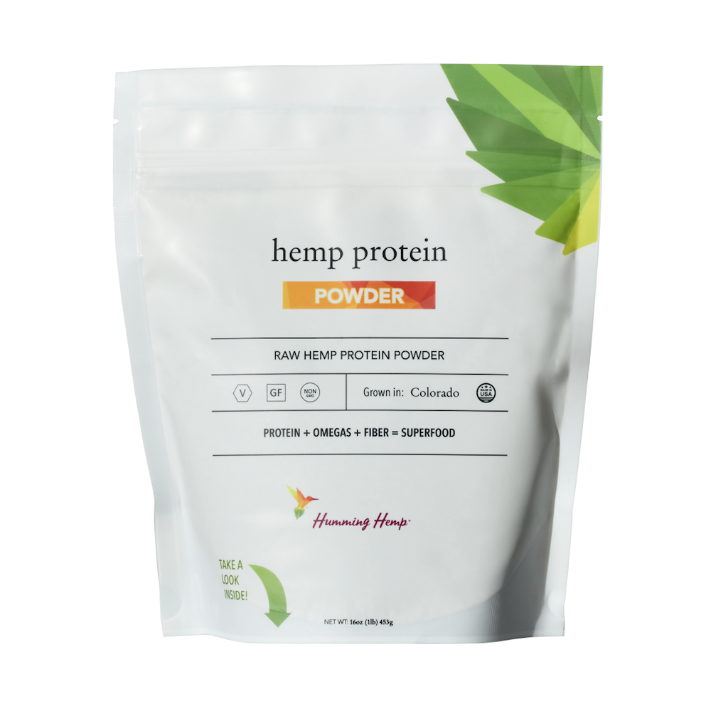 Hemp Protein - Humming Hemp - Certified Paleo, KETO Certified by the Paleo Foundation