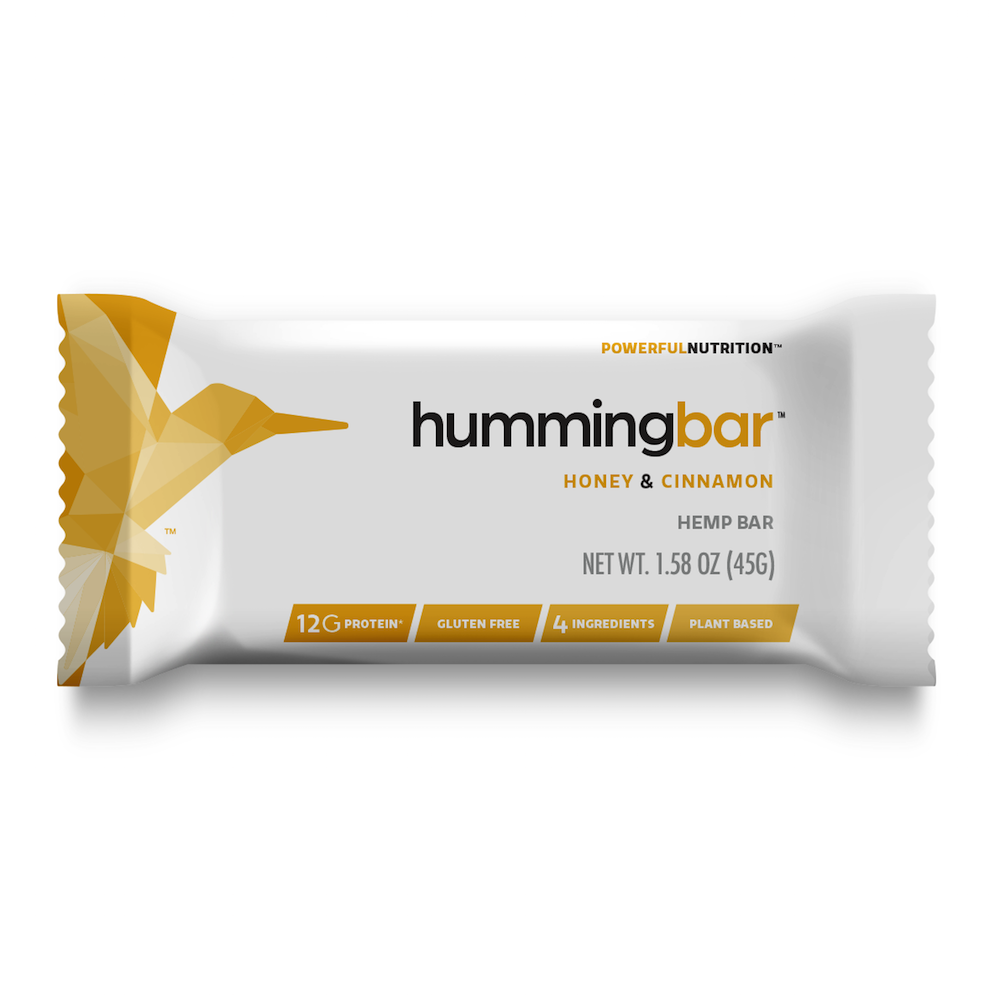 Honey & Cinnamon Hummingbar - Humming Hemp - Certified Paleo by the Paleo Foundation