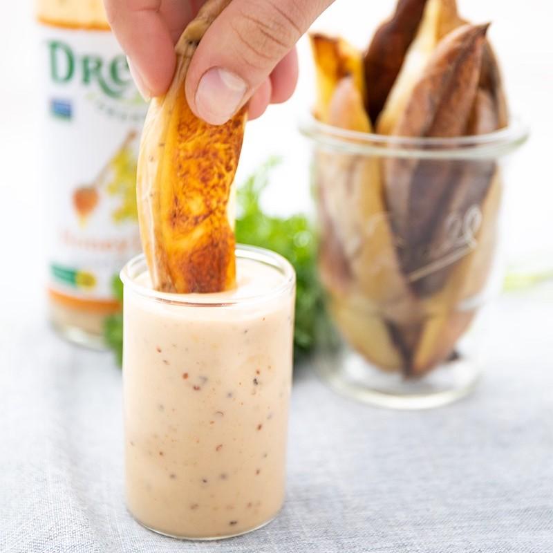 Honey Dijon Dressing 01 - Drew's Organics - Certified Paleo Friendly by the Paleo Foundation