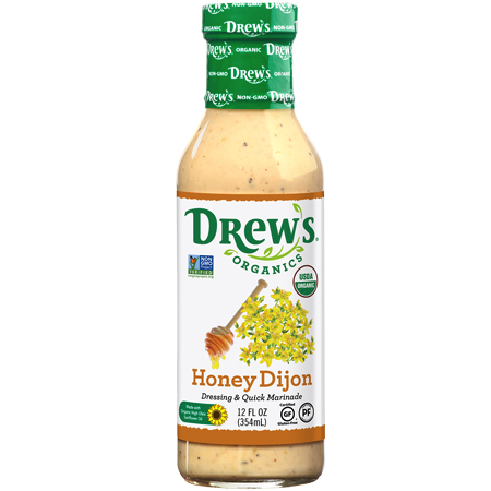 Honey Dijon Dressing - Drew's Organics - Certified Paleo Friendly by the Paleo Foundation