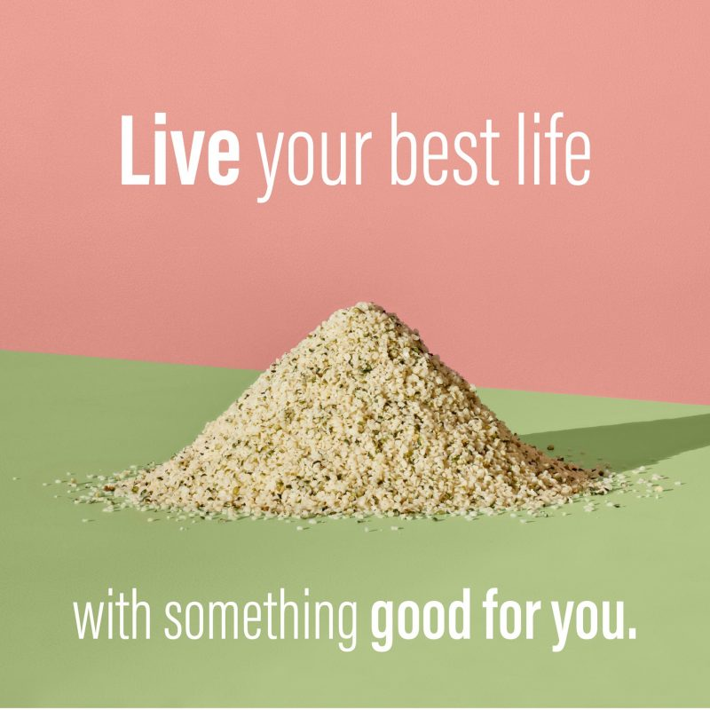 Live Your Best Life - Humming Hemp - Certified Paleo, KETO Certified by the Paleo Foundation