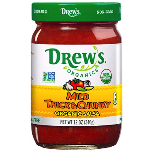 Mild Organic Salsa - Drew's Organics - Certified Paleo - Paleo Foundation