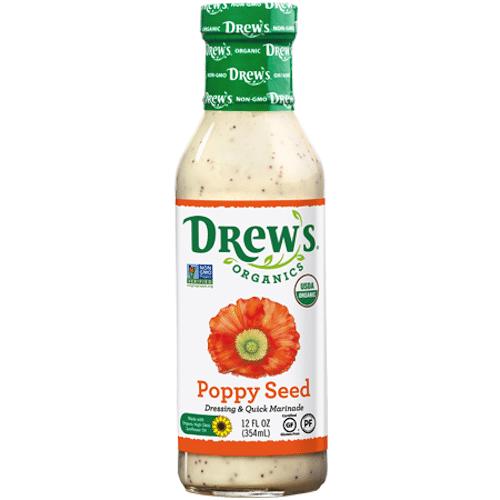Poppy Seed Dressing - Drew's Organics - Paleo Friendly - Paleo Foundation