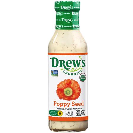 Poppy Seed - Drew's Organics - Certified Paleo Friendly by the Paleo Foundation