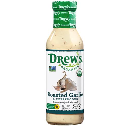 Roasted Garlic & Peppercorn - Drew's Organics - Certified Paleo - Paleo Foundation