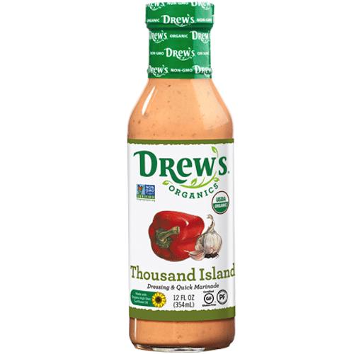 Thousand Island Dressing - Drew's Organics - Paleo Friendly - Paleo Foundation