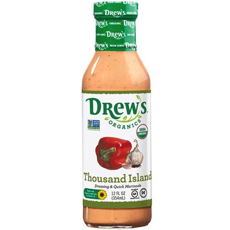 Thousand Island - Drew's Organics - Certified Paleo Friendly by the Paleo Foundation