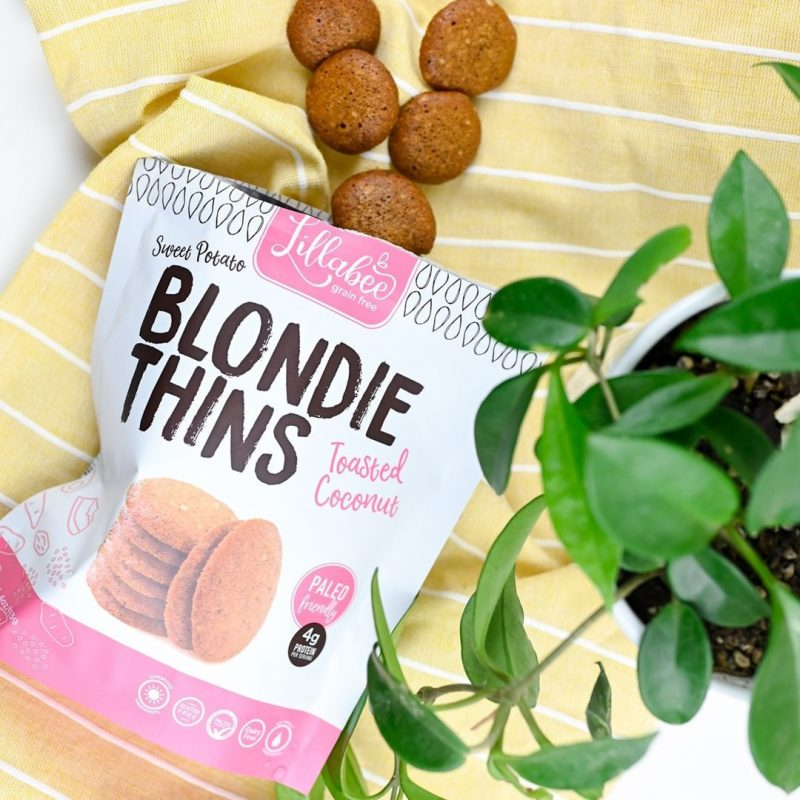 Toasted Coconut Blondie Thins - Lillabee Snacks - Paleo Friendly by the Paleo Foundation