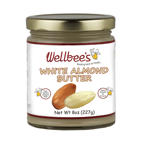 White Almond Butter - Wellbees - Certified Paleo - Paleo Foundation