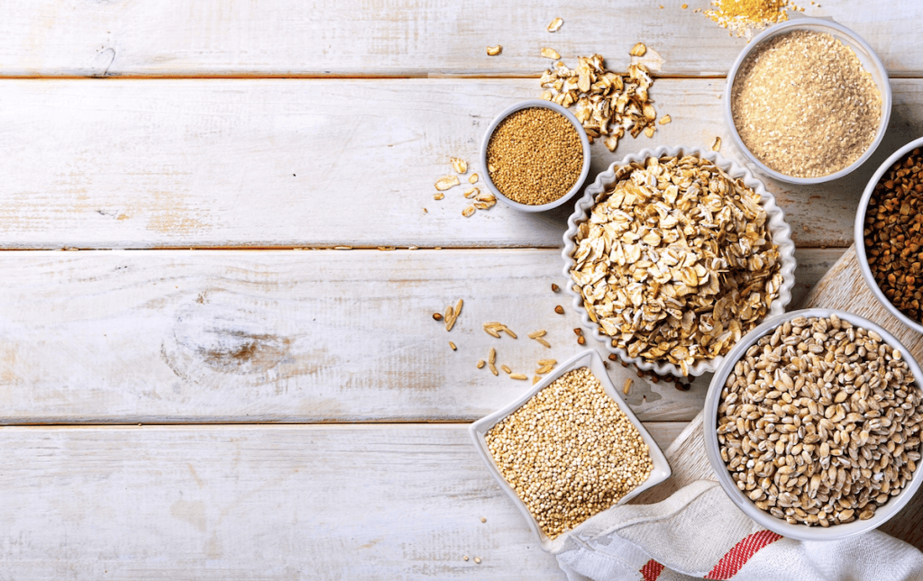 the complete list of grains and pseudograins