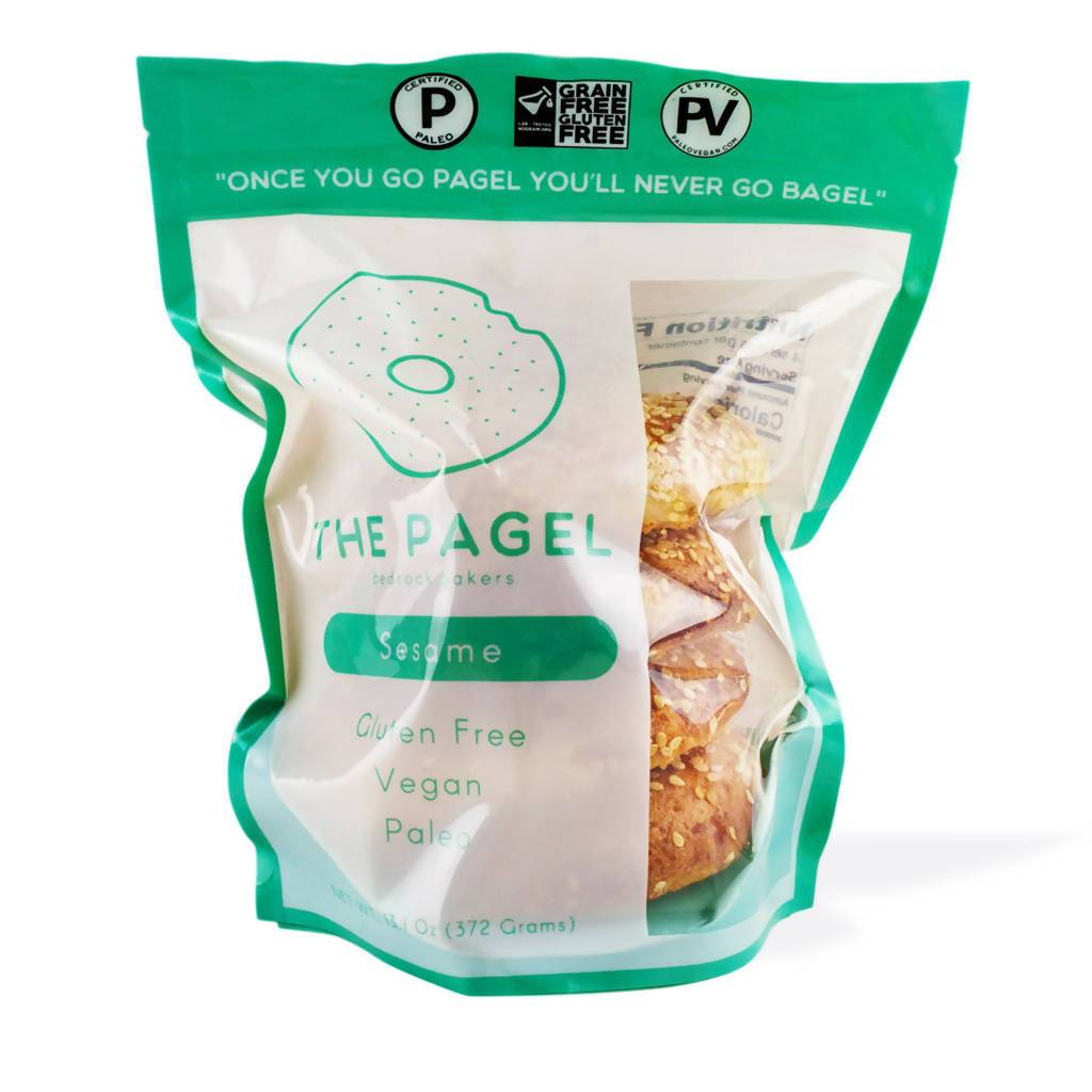 Sesame Pagel - Bedrock Bakers - Certified Paleo, Certified Grain Free Gluten Free by the Paleo Foundation
