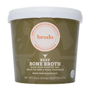 Beef Bone Broth - Certified Paleo, Keto Certified by the Paleo Foundation