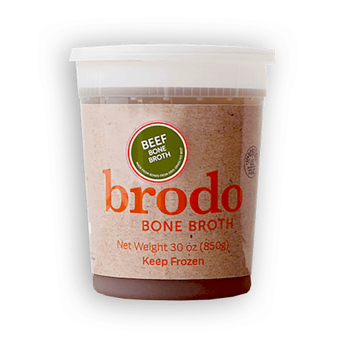 Brodo 100% Grass-fed Beef bone broth - Brodo Bone Broth - Certified Paleo - Paleo Foundation