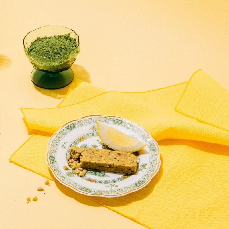Dang Bar - Lemon Matcha 1 - Dang Foods - Keto Certified by the Paleo Foundation