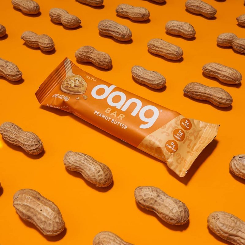 Dang Bar - Peanut Butter 1 - Dang Foods - Keto Certified by the Paleo Foundation