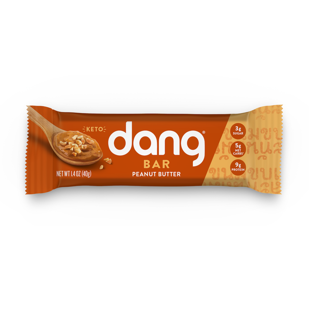 Dang Bar - Peanut Butter - Dang Foods - Keto Certified by the Paleo Foundation