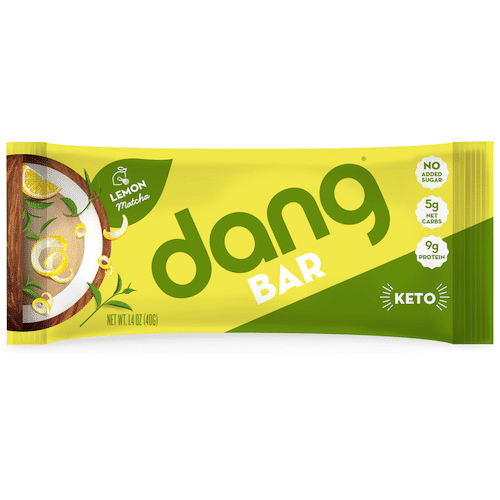 Lemon Matcha Dang Bar - Dang Foods - KETO Certified - Paleo Foundation