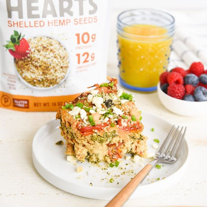 Hemp Hearts Breakfast 1 - Manitoba Harvest Fresh Hemp Foods - Certified Paleo, Keto Certified by the Paleo Foundation