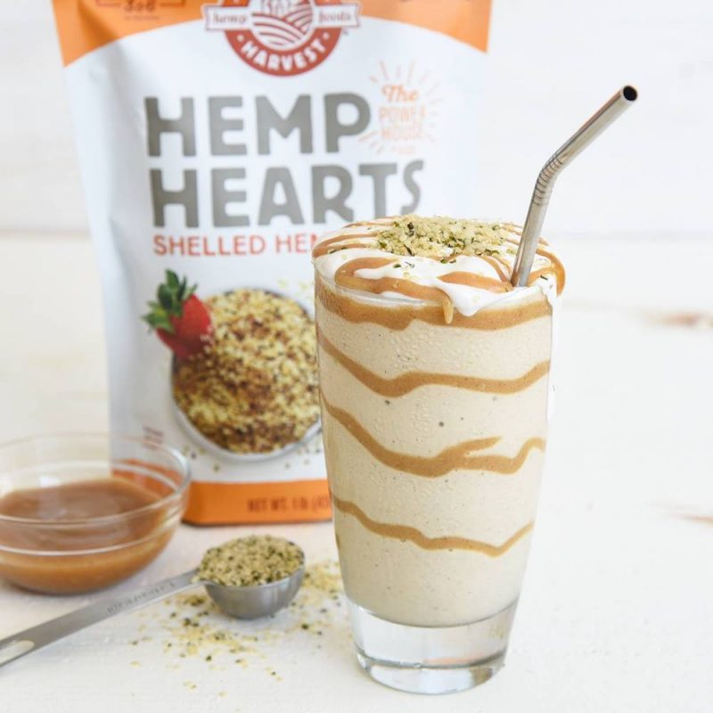 Hemp Hearts Caramel Shake - Manitoba Harvest Fresh Hemp Foods - Certified Paleo, Keto Certified by the Paleo Foundation