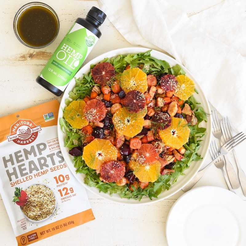 Hemp Hearts & Hemp Oil 1 - Manitoba Harvest Fresh Hemp Foods - Certified Paleo, Keto Certified by the Paleo Foundation