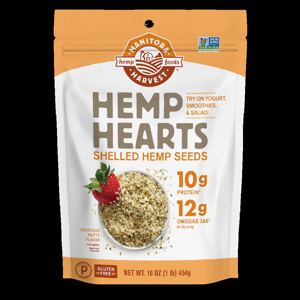 Hemp Hearts - Manitoba Harvest Fresh Hemp Foods - Certified Paleo, Keto Certified by the Paleo Foundation