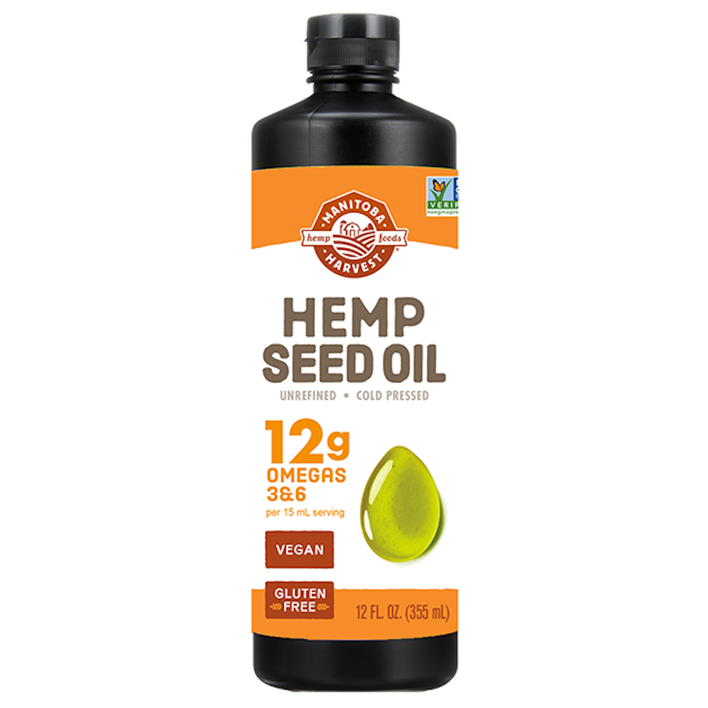 Hemp Seed Oil - Manitoba Harvest Fresh Hemp Foods - Certified Paleo, Keto Certified by the Paleo Foundation
