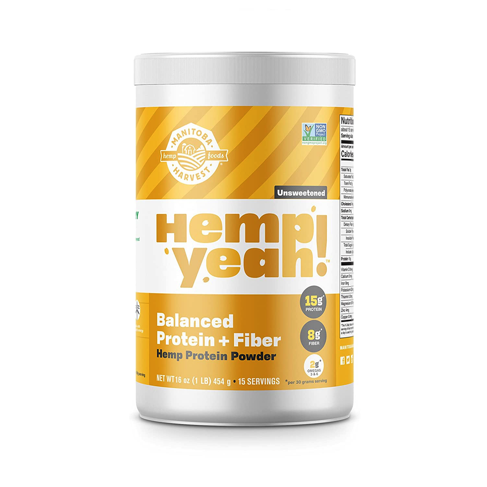 Hemp Yeah! Balanced Protein + Fiber - Manitoba Harvest Fresh Hemp Foods - Certified Paleo, Keto Certified by the Paleo Foundation
