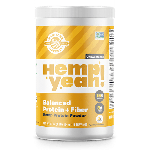 Hemp Yeah! Balanced Protein + Fibre Protein Powder - Manitoba Harvest - Certified Paleo - Paleo Foundation