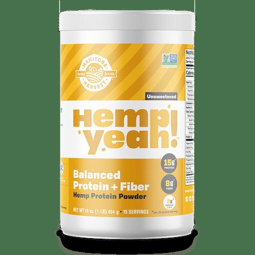 Hemp Yeah! Balanced Protein + Fibre Protein Powder - Manitoba Harvest - Certified Paleo - Paleo Foundation