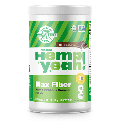 Hemp Yeah! Max Fibre Protein Powder - Chocolate - Manitoba Harvest - Certified Paleo - Paleo Foundation