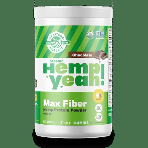 Hemp Yeah! Max Fibre Protein Powder - Chocolate - Manitoba Harvest - Certified Paleo - Paleo Foundation
