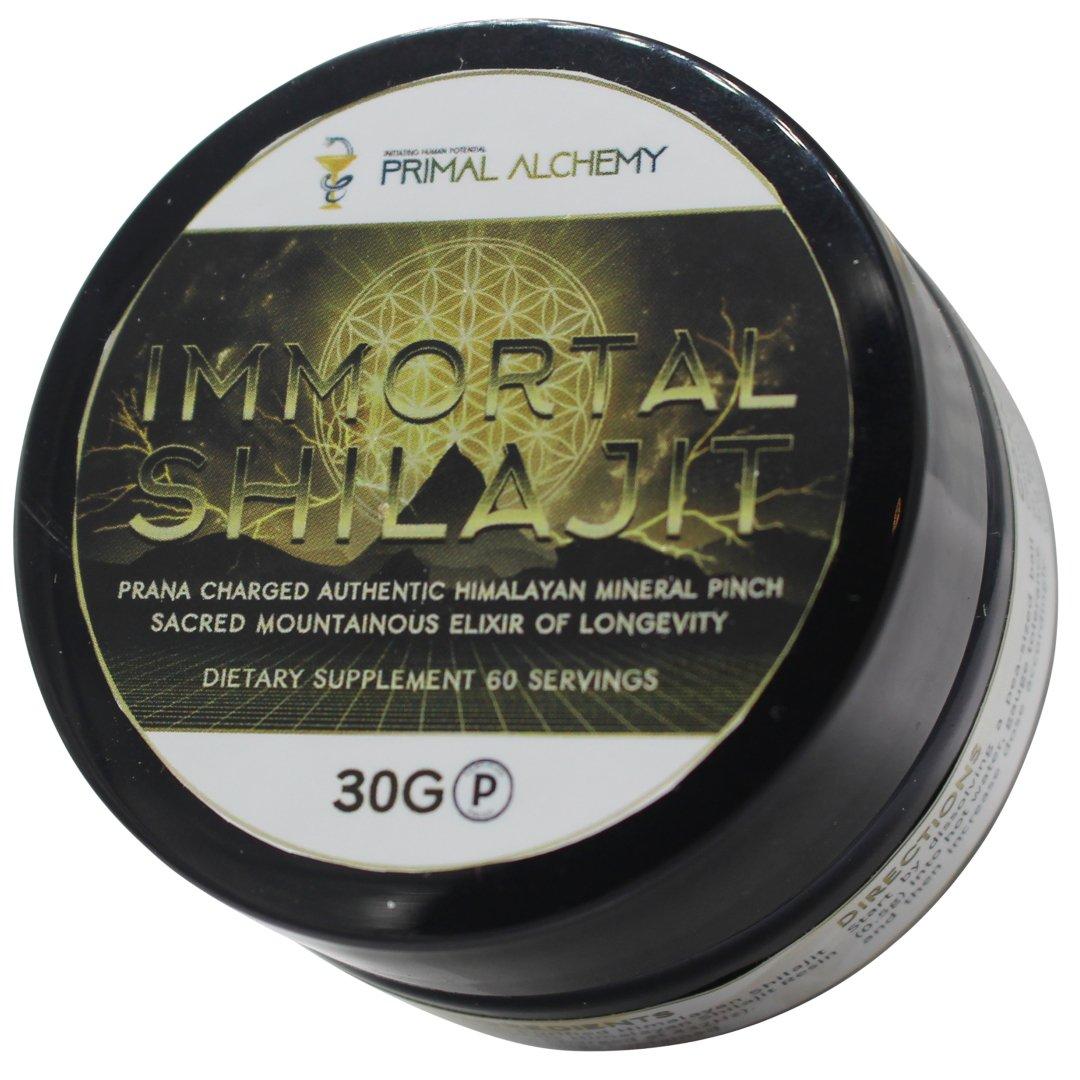 Immortal Shilajit - Primal Alchemy - Certified Paleo by the Paleo Foundation