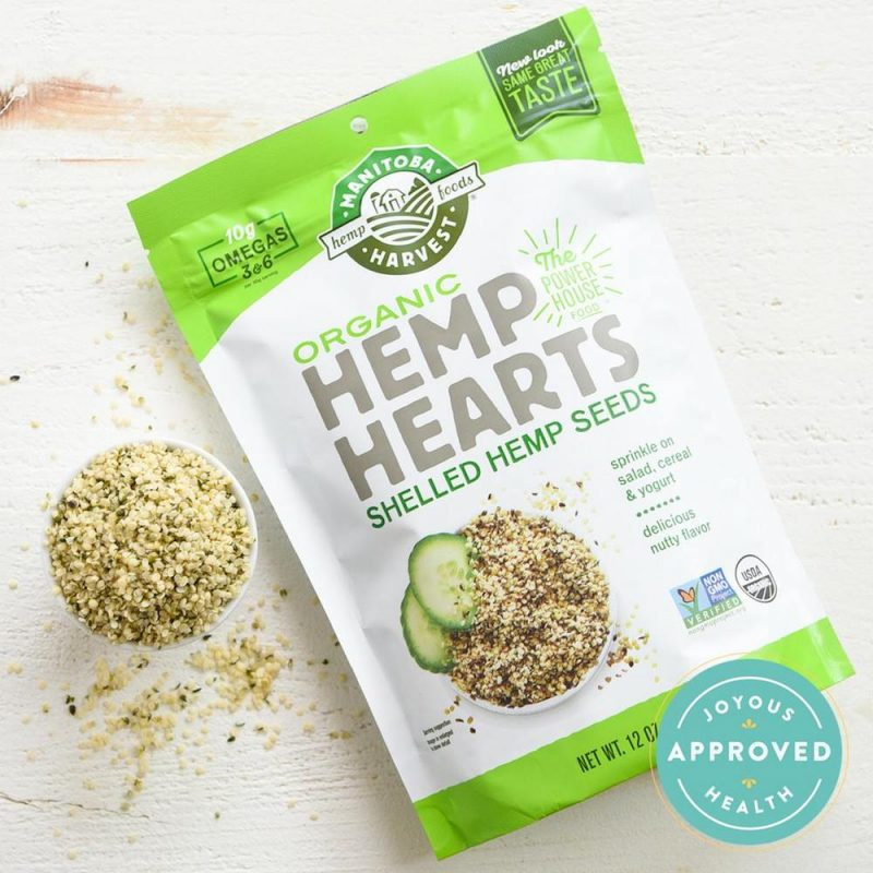 Organic Hemp Hearts 01 - Manitoba Harvest - Certified Paleo, Keto Certified by the Paleo Foundation