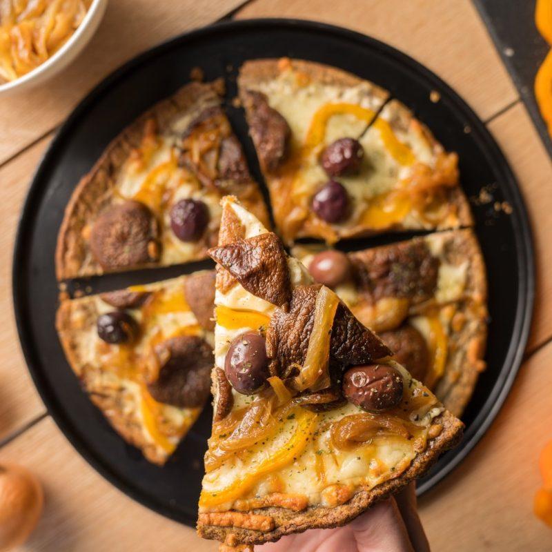 Unbun Pizza 2 - Unbun Foods - Grain Free Gluten Free, Certified Paleo, PaleoVegan, & KETO Certified by the Paleo Foundation