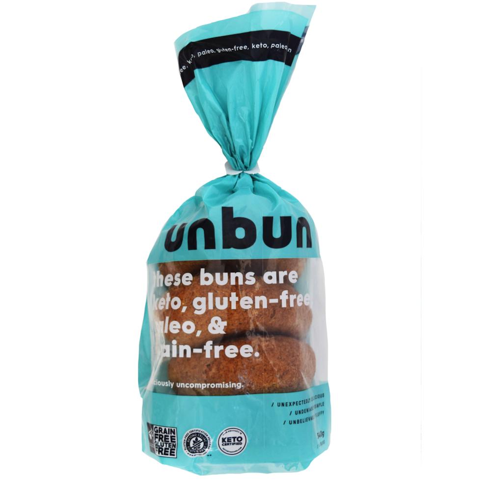 Unbun - Unbun Foods - Grain Free Gluten Free, Certified Paleo, & KETO Certified by the Paleo Foundation