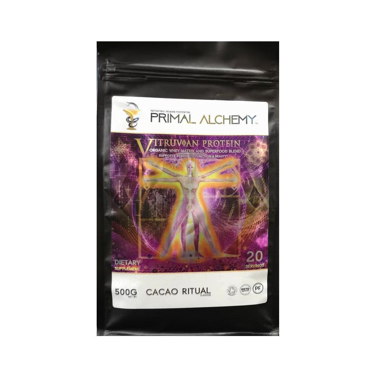 Vitruvian Protein - Primal Alchemy - Certified Paleo Friendly, KETO Certified by the Paleo Foundation