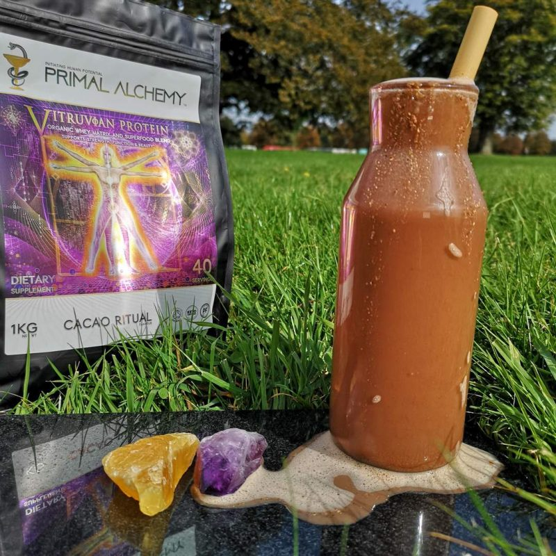 Vitruvian Protein shake - Primal Alchemy - Certified Paleo Friendly, KETO Certified by the Paleo Foundation