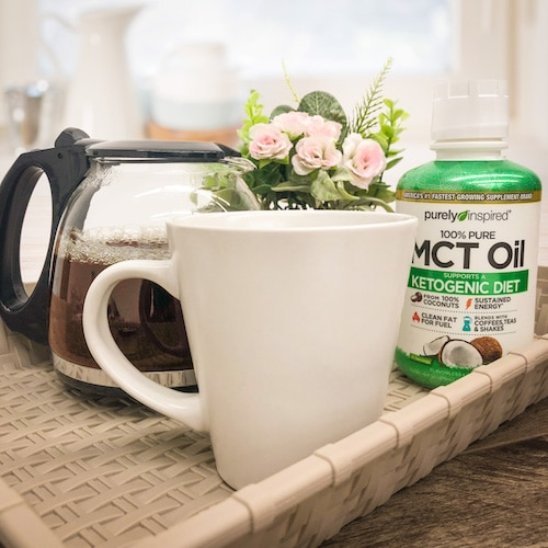 Coffee - Purely Inspired Organic MCT Oil - Iovate - Certified Paleo, KETO Certified - Paleo Foundation