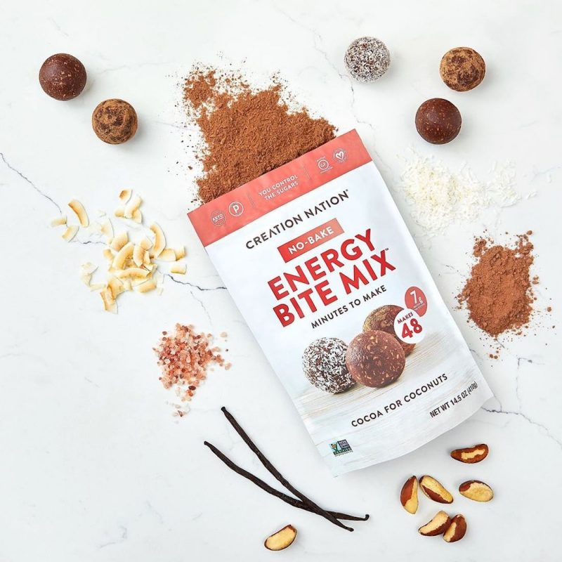 Energy Bite Mix 1 - Cocoa for Coconuts - Creation Nation - Certified Paleo, Keto Certified by the Paleo Foundation