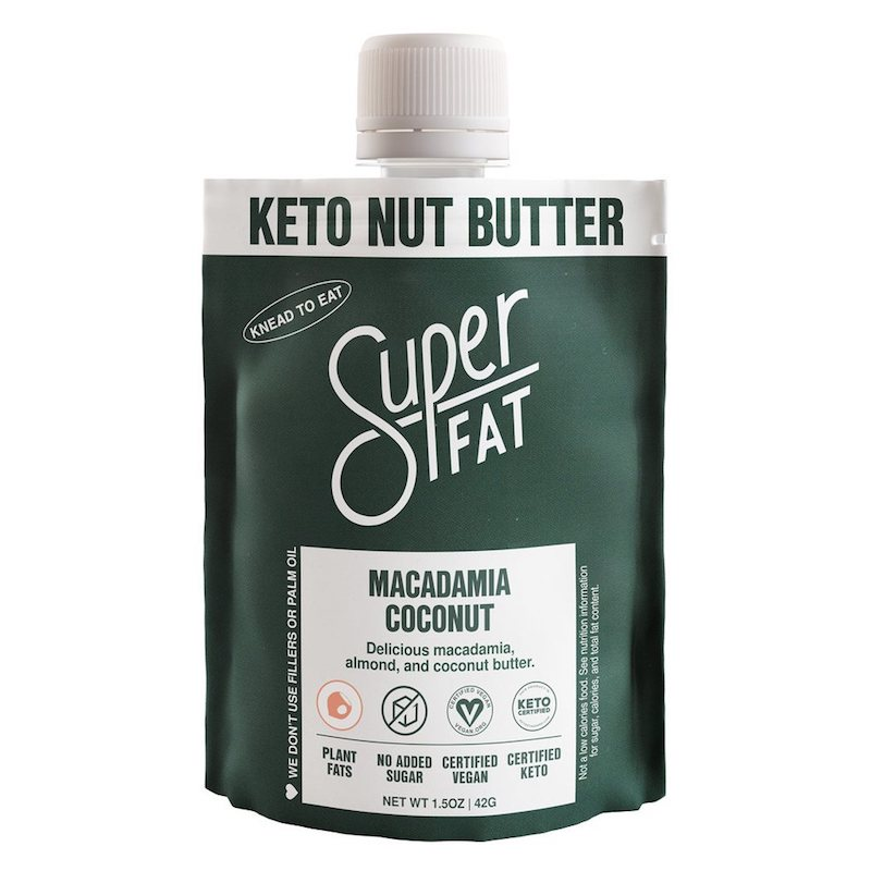 Macadamia Coconut Nut Butter - SuperFat - Certified Paleo, KETO Certified by the Paleo Foundation